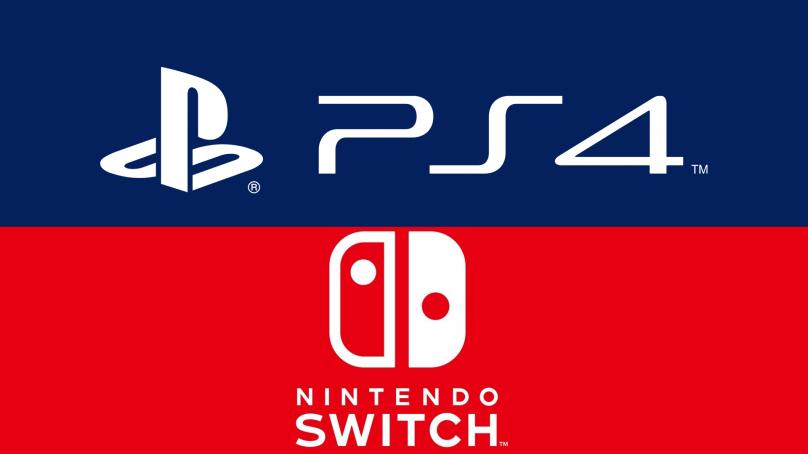 Ps4 vs Nintendo switch  en million !