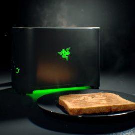 Le grille-pain Razer Toaster, une farce ou une réalité ?