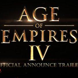 AGE OF EMPIRE IV : Bonne nouvelle pour les fans de AoE !