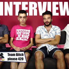 Interview m3a Team Bitch Please 420 – Dota 2