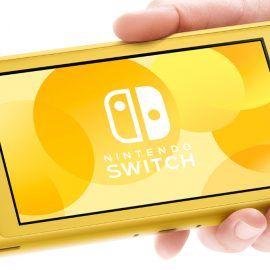 La Nintendo Switch Lite est disponible dès maintenant !