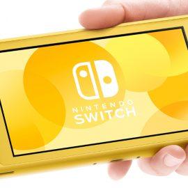 La Nintendo Switch Lite est disponible dès maintenant !
