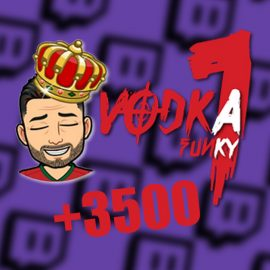 Vodkafunky1 explose la barre des Viewers sur Twitch !