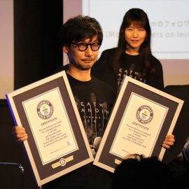 Hideo Kojima :  deux records Guinness !