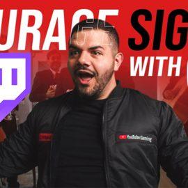 CouRage a quitté Twitch pour streamer exclusivement sur Youtube