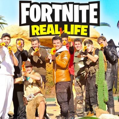 FORTNITE in Real Life!