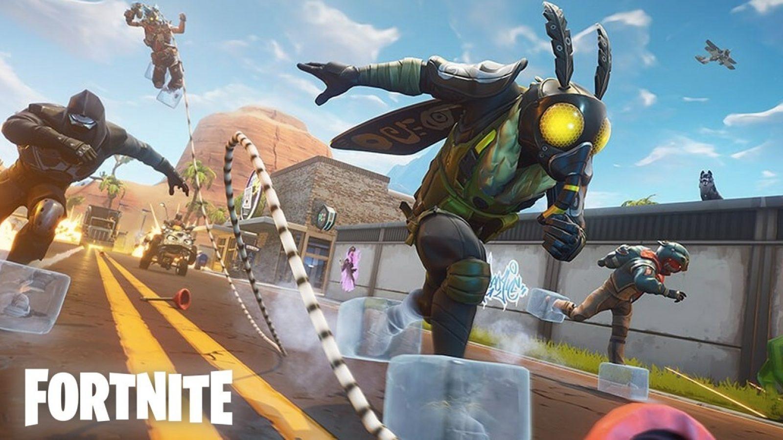 fortnite slide solo limited time mode is live 14 days of fortnite