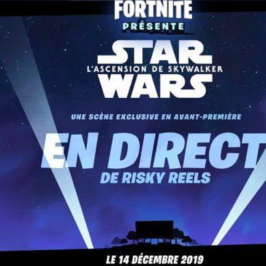 Fortnite : un extrait inédit de Star Wars 9 sera diffusé 😍