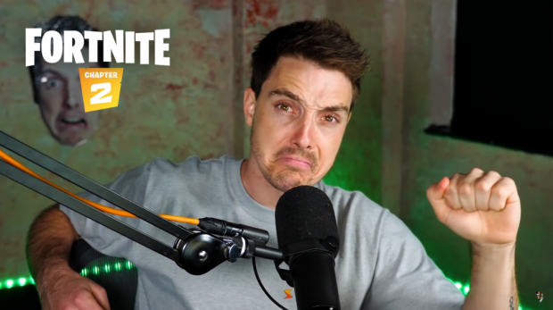 lazarbeam reveals why he s been struggling to play fortnite in chapter 2