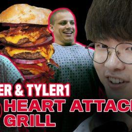 Tyler1 s'est fait punir lors d'un repas avec faker