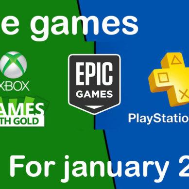 Xbox,Ps4,Epic Gmaes: Les jeux gratuits pour le mois de janvier 2020