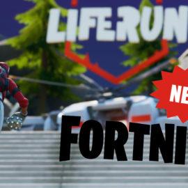 Fortnite: Liferun le nouveau mode