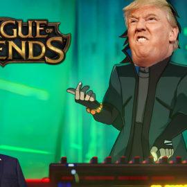 League of legends : une vidéo de Donald Trump utilise une musique du jeu