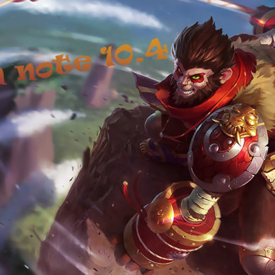 league of legends: Patch note 10.4 (Rework buff …)