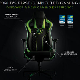 Arcadeo : Une chaise Gaming connectée !