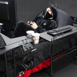 Bauhutte: un lit pour gamer