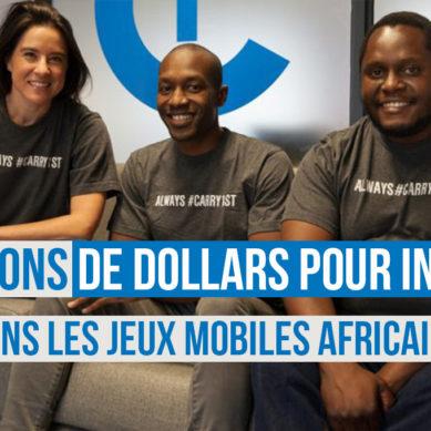 Carry1st débourse plus de 4 millions de dollars pour investir dans les jeux mobiles africains