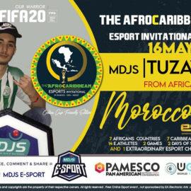 Le Maroc sera représenté par Ilyass mousaid durant les competitions de l'Afro-Caribbean eSports Invitational
