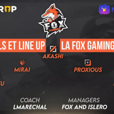 Fox gaming team: all stars made in Morocco?