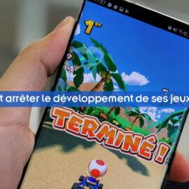 Nintendo pourrait arrêter le développement de ses jeux les jeux mobiles