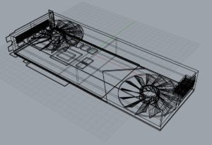 NVIDIA GeForce RTX 3080 design CAD