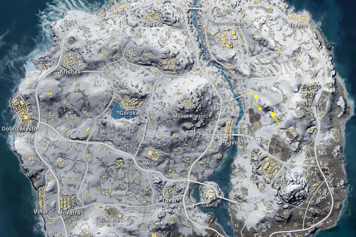 Vikendi cave markers 1.0