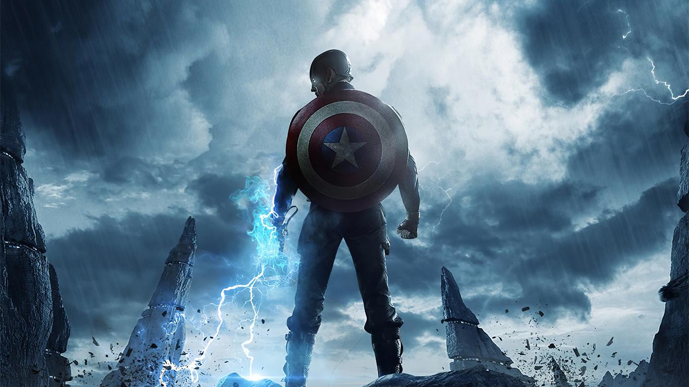 captain america 4k 2020 3q 1366x768 1