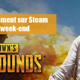 PUBG: Disponible gratuitement sur Steam tout au long du week-end
