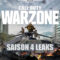 CALL OF DUTY: WARZONE SAISON 4 LEAKS