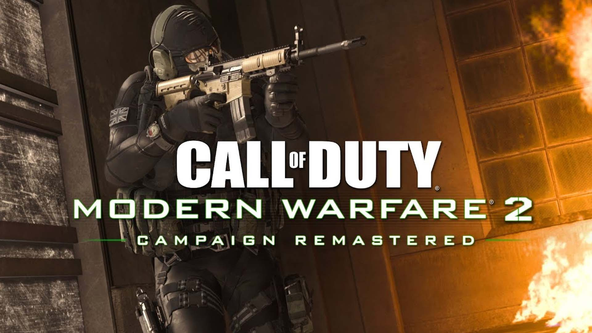 jeux video call of duty modern warfare 2 campaign remastered
