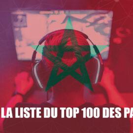 Le Maroc figure dans la liste du top 100 des pays par revenus de jeu !
