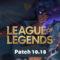 League of Legends : early patch 10.18 , skin psyops , buff et nerf …