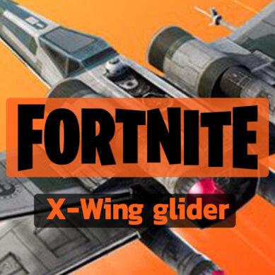 Fortnite : Le planeur X-Wing est désormais disponible en vente