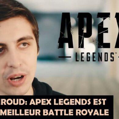 Shroud dit qu'Apex Legends est toujours le meilleur Battle Royale malgré un problème majeur