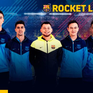 Le FC Barcelone se sépare de ses 5 roasters Rocket League