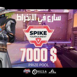 """""""Moroccan Spike Tournament""""  Le plus grand tournoi marocain de Valorant"""