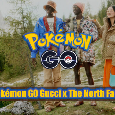 Pokémon GO collaborera avec Gucci x The North Face