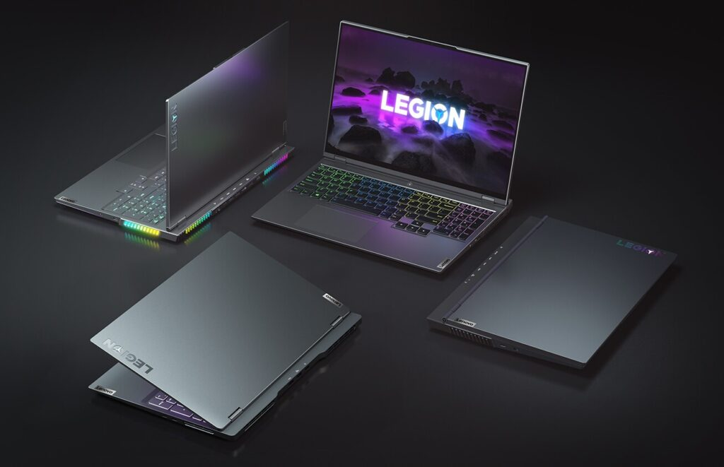 Lenovo Legion 7 Legion Slim 7 Legion 5 Pro and Legion 5 1