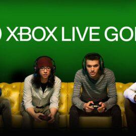XBOX LIVE GOLD: Aucune modifications sur la tarification en 2021.