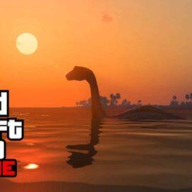 GTA 5: Un énorme monstre marin apparaît et personne ne sait pourquoi.