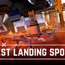 Apex Legends Saison 8 World's Edge: Meilleurs points d'atterrissage à la pointe du monde