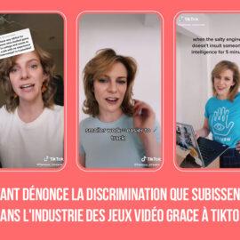 TikTok: Leslee Sullivant dénonce la discrimination que subissent les femmes dans l'industrie des jeux vidéo