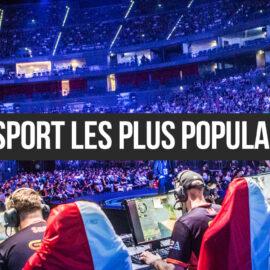 Les jeux d'esport les plus populaires en 2020